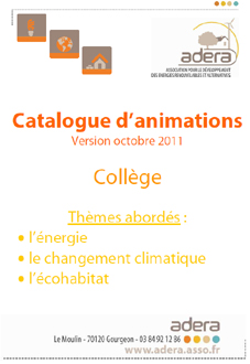 catalogue college